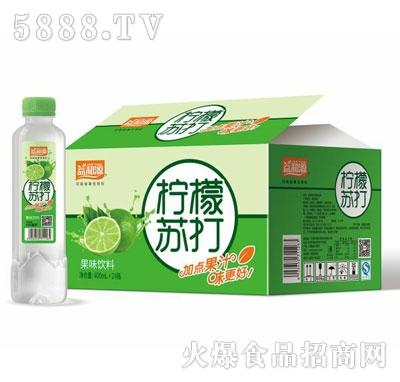 益和源柠檬苏打水400mlx24瓶