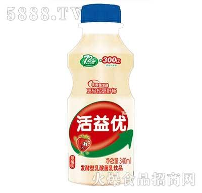 活益优发酵型乳酸菌饮品340ml产品图