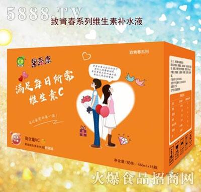 果爱康致青春系列柑橘饮料460mlx15瓶