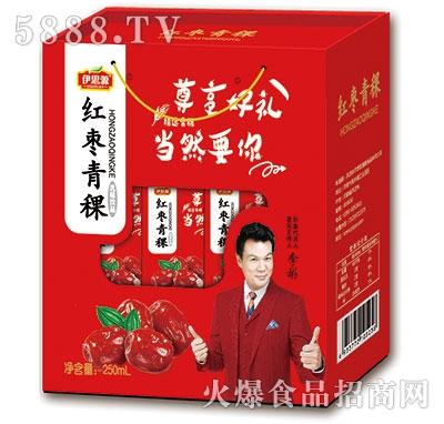 伊思源红枣青稞乳味饮料