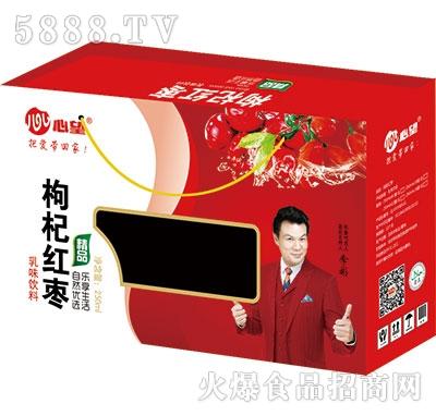 心望枸杞红枣乳味饮料