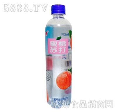 蜜桃苏打汽水500ml