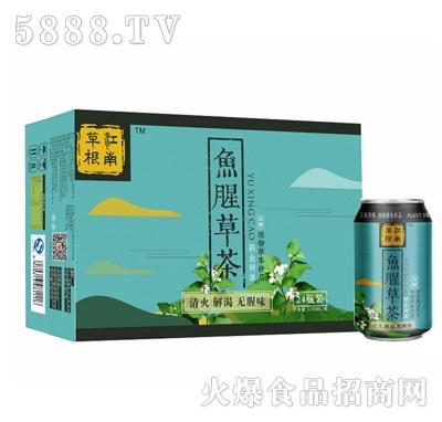 江南草根鱼腥草茶310mlx24瓶