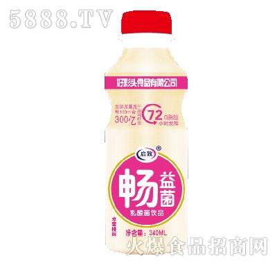 畅益菌乳酸菌饮品340ml水蜜桃味