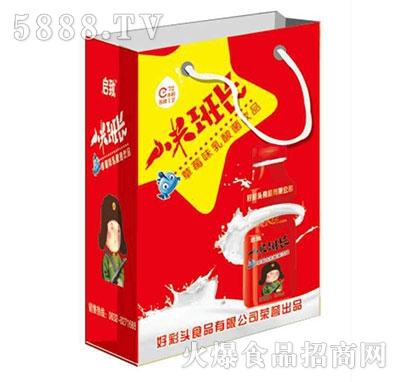 小米班长草莓味乳酸菌饮品礼盒装