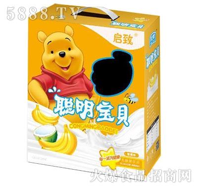 启致聪明宝贝乳酸饮品香蕉味手提装