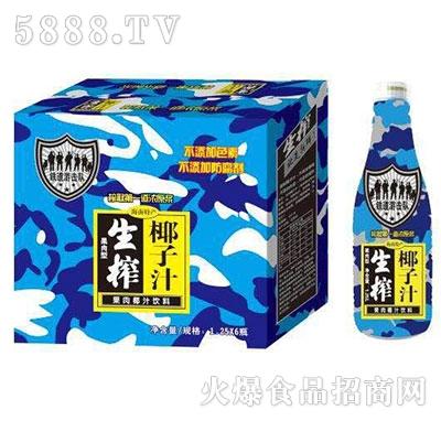 铁道游击队生榨椰子汁1.25Lx6瓶