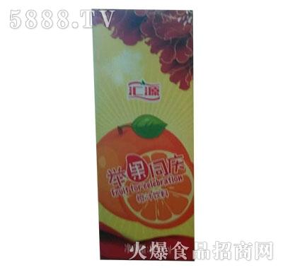 汇源举果同庆橙汁200ml