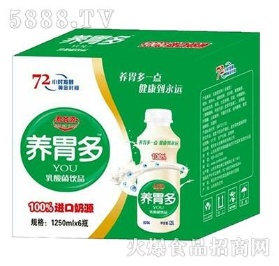 君谷源养胃多乳酸菌饮料1250mlx6瓶