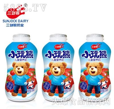 三剑客小玩熊儿童营养奶205ml