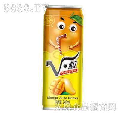V・粒芒果汁饮料240ml