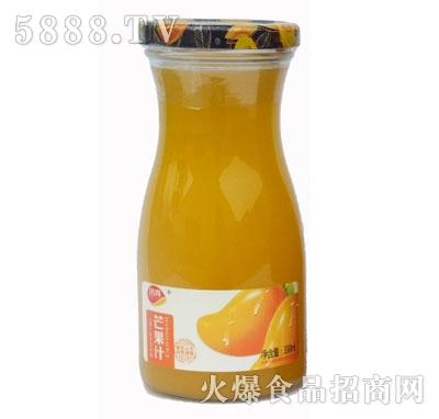 顶真果园芒果汁330ml