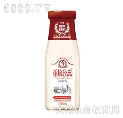 皇家品质重拾经典发酵酸奶红枣味饮品1000ml