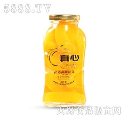 真心长寿黄桃罐头248g