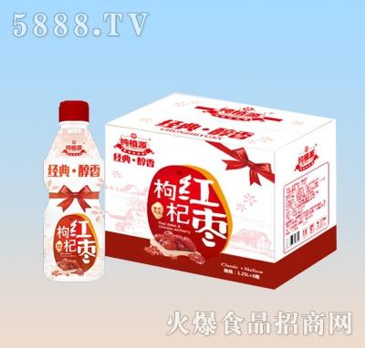 纯植源枸杞红枣汁