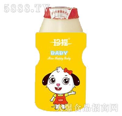 珍摇BABY小白狗乳酸菌饮品