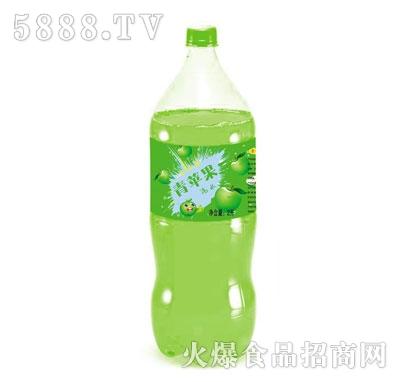 青苹果碳酸饮料汽水2L