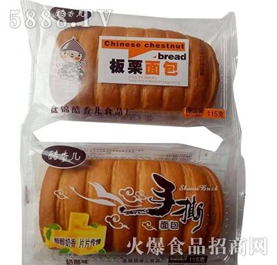 酷香儿板粟、手撕面包115克
