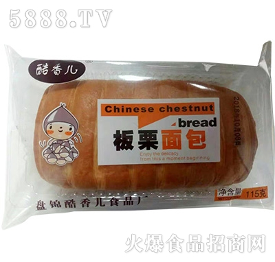 酷香儿板粟面包115克
