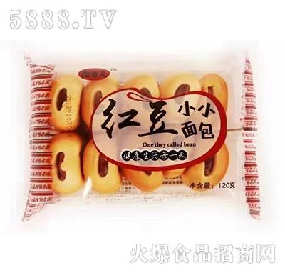 酷香儿红豆小小面包120克