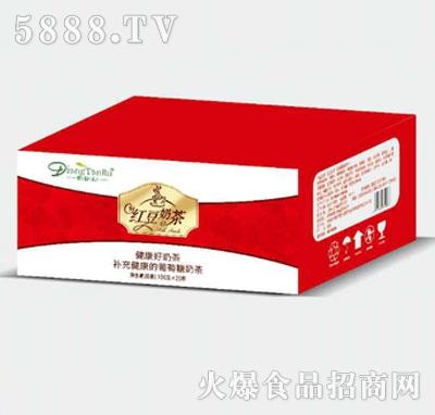香碳乳红豆奶茶100克x20杯产品图