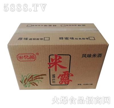 米兄弟米露风味米酒430mlx15瓶产品图
