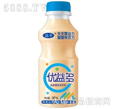 蒙牛优益多乳酸菌乳味饮料340ml