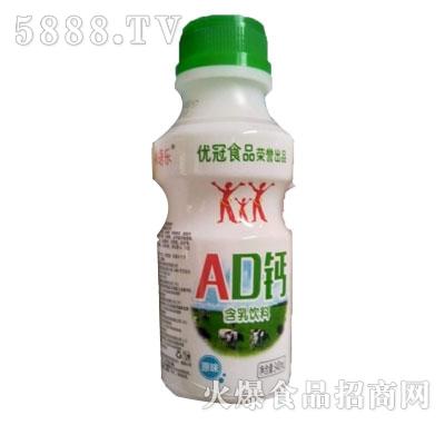 优冠AD钙原味含乳饮料340ml