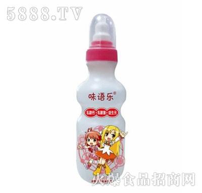 味语乐草莓味发酵型乳酸菌饮品200ml