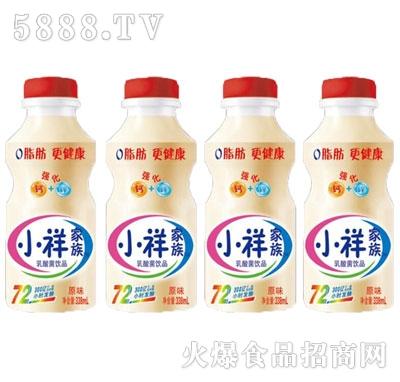 洪威小祥家族原味乳酸菌饮品338ml