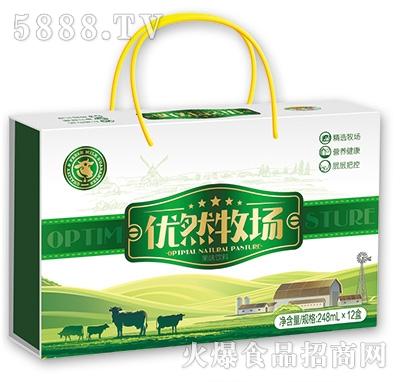 优然牧场果味饮料248mlx12盒