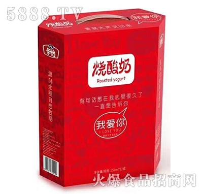 伊怡烧酸奶250mlx12盒