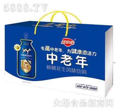金骄阳中老年核桃花生风味饮料
