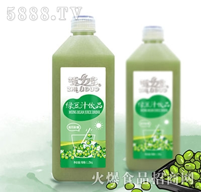 智力多绿豆汁产品图