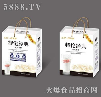 江中养生季特伦经典饮品200mlx12盒