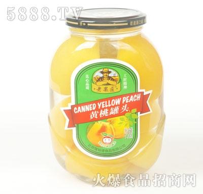 老果匠黄桃罐头720g