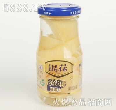 银花桃罐头248克(瓶)