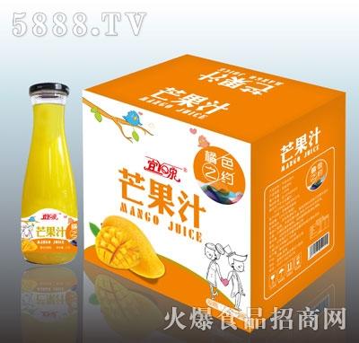 宜泉芒果汁1.5LX6