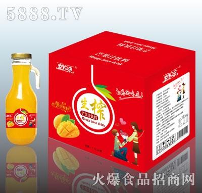 宜泉生榨芒果汁1.5LX6
