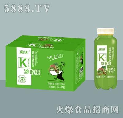 宜泉益生菌果汁猕猴桃汁330mlx15瓶