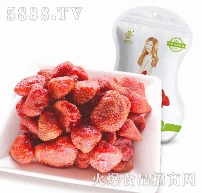 膳粮兔草莓干