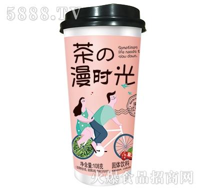 108克抹茶味红豆奶茶(20盎司杯子)产品图