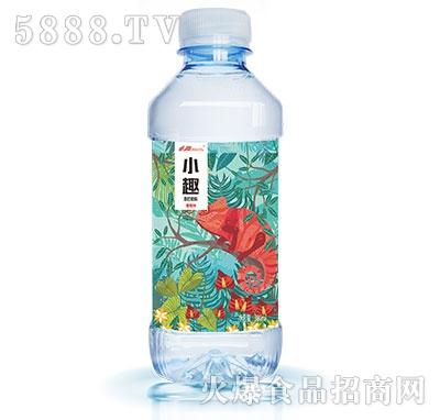 小趣蜜桃味苏打水380ml