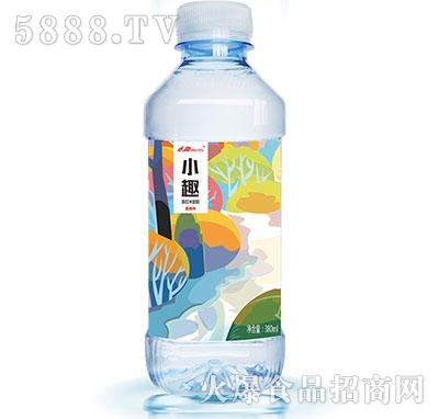 小趣西柚味苏打水380ml