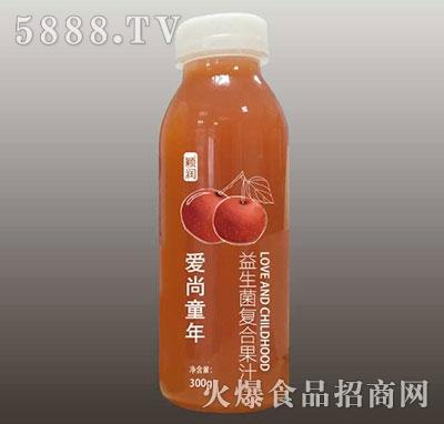 颖润益生菌复合山楂果汁300g