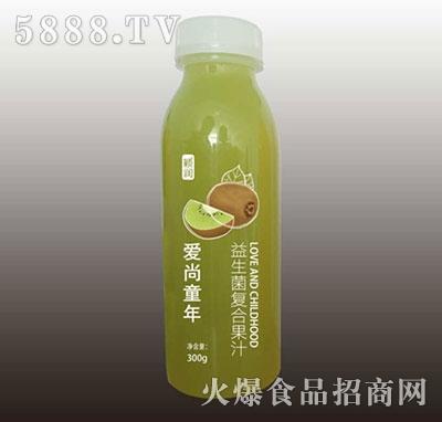 颖润益生菌复合猕猴桃果汁300g