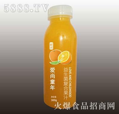 颖润益生菌复合橙汁300g