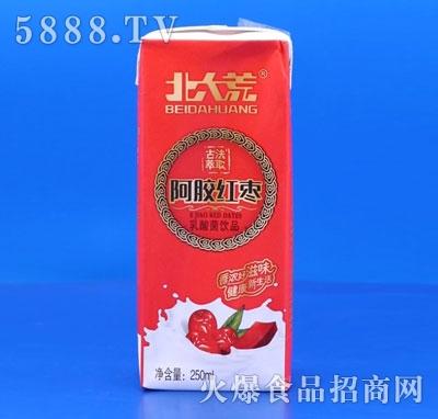 北大荒阿胶红枣乳酸菌饮品250ml