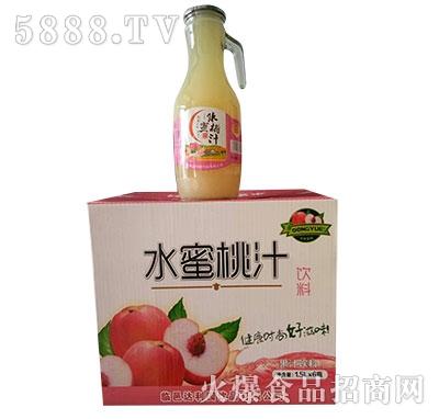 达利园饮品水蜜桃汁1.5Lx6瓶