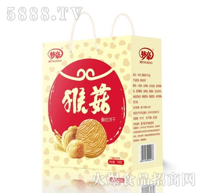 梦豪猴菇酥性饼干708克